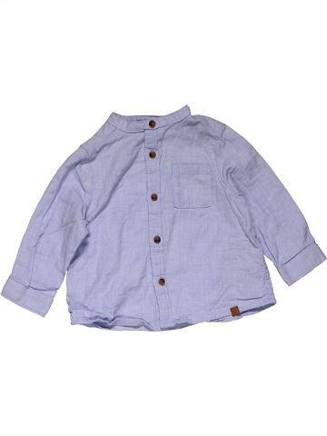 Long sleeve shirt boy ZARA gray 6 months winter #27584_1