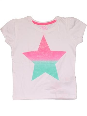 Short sleeve T-shirt girl PRIMARK pink 2 years summer #27588_1