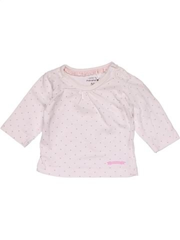 Long sleeve T-shirt girl PRENATAL pink new born winter #27590_1