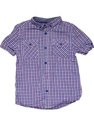 Short sleeve shirt girl BEN SHERMAN blue 7 years summer #27619_1