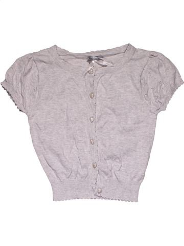 Short sleeve blouse girl YD gray 10 years summer #27680_1