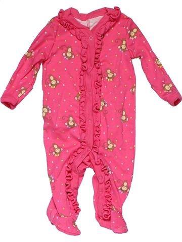 Long jumpsuit girl GYMBOREE pink 3 months winter #27733_1