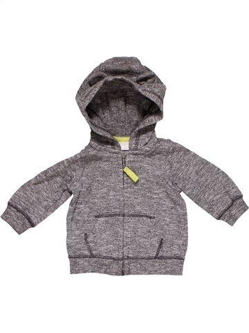 Sweatshirt boy F&F gray 3 months winter #27737_1