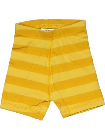 Short pants unisex H&M yellow 3 months summer #27794_1