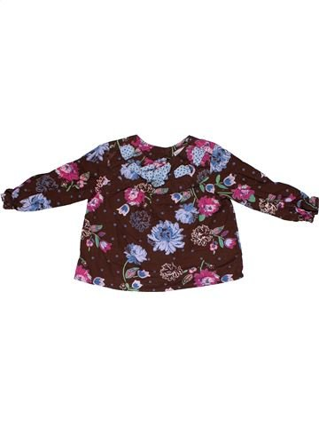 Long sleeve blouse girl JOHN LEWIS purple 6 months winter #27853_1