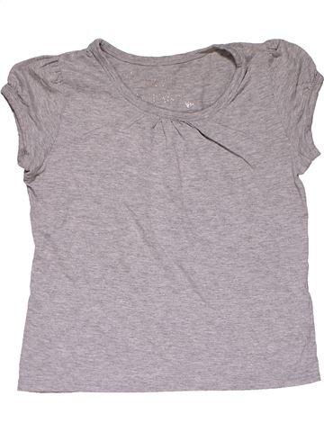 Short sleeve blouse girl NO BRAND gray 11 years summer #27866_1