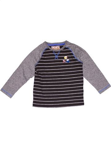 Long sleeve T-shirt boy MARKS & SPENCER gray 5 years winter #28075_1