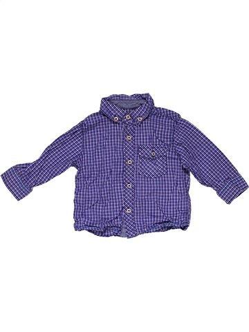 Long sleeve shirt boy NEXT purple 12 months summer #28110_1