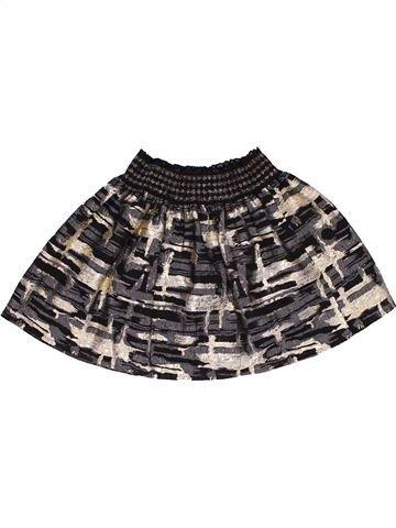 Skirt girl TU brown 5 years summer #28119_1