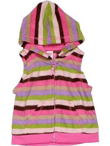 Vest girl SNUGABYE pink 6 months winter #28215_1
