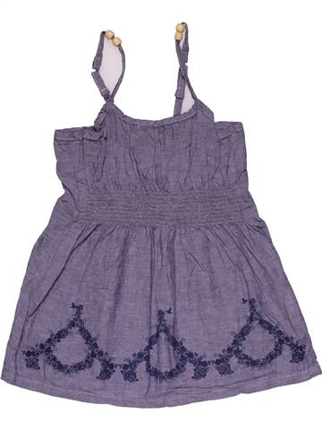 Dress girl NO BRAND purple 9 months summer #28303_1