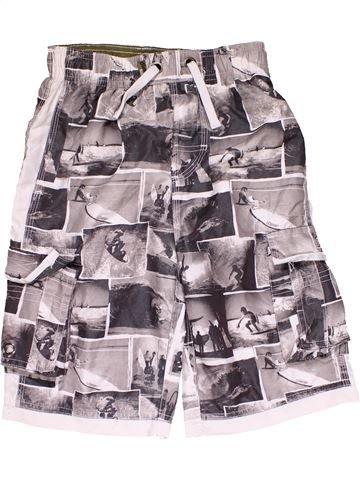 Short pants boy REBEL white 11 years summer #28333_1