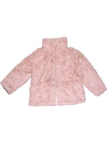 Sweatshirt girl YOUNG DIMENSION pink 2 years winter #28413_1