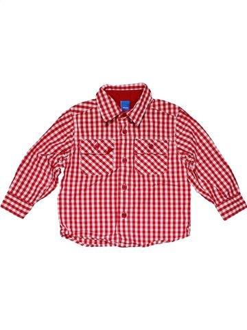 Long sleeve shirt boy ADAMS pink 18 months summer #28450_1