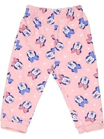 1 piece Pyjama girl GEORGE pink 18 months winter #2848_1