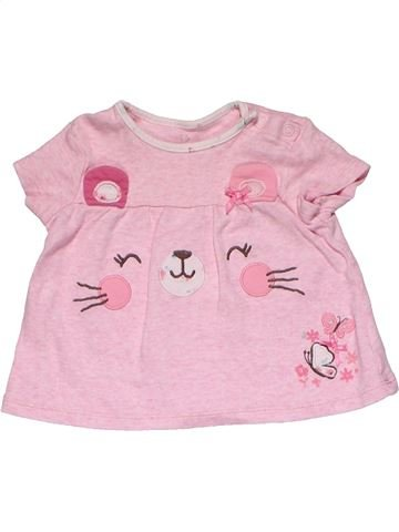 Short sleeve T-shirt girl EARLY DAYS pink 6 months summer #28493_1