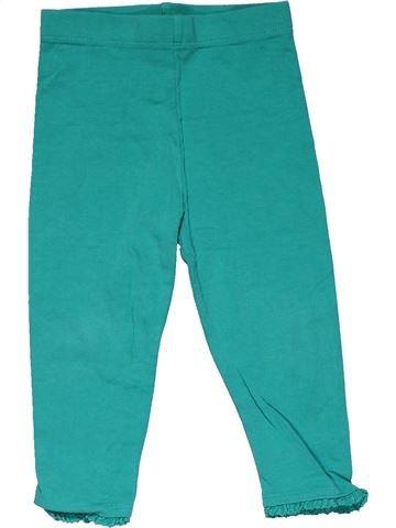 Leggings girl NEXT green 18 months winter #28524_1