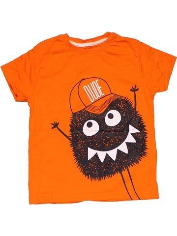 Short sleeve T-shirt boy PRIMARK orange 5 years summer #28737_1