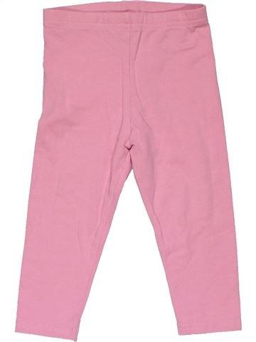 Leggings girl NEXT pink 12 months summer #28782_1