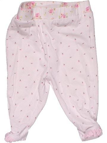 Trouser girl MINI CLUB white 3 months summer #28840_1