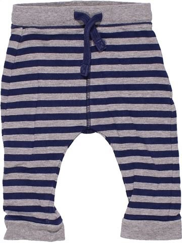 Trouser unisex MARKS & SPENCER gray 9 months winter #2917_1