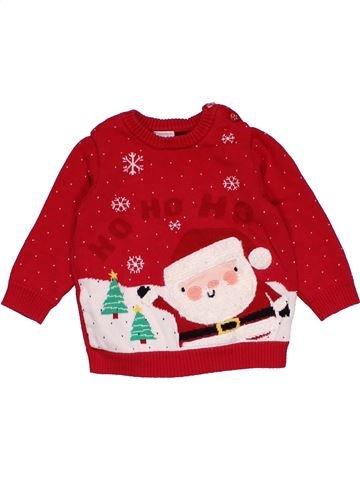 Long sleeve blouse boy MINI CLUB red 9 months winter #29232_1