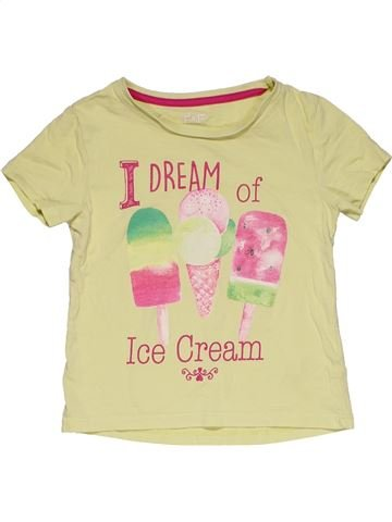 Short sleeve T-shirt unisex F&F beige 5 years summer #29235_1