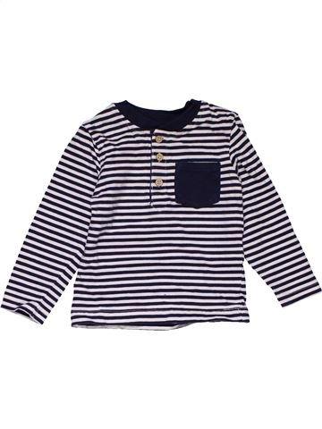 Long sleeve blouse boy MINIMAN black 12 months winter #29251_1