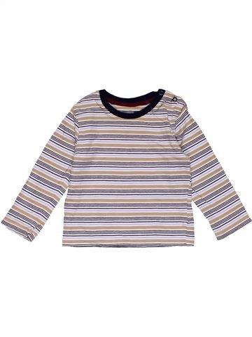 Long sleeve blouse boy NO BRAND pink 18 months winter #29275_1