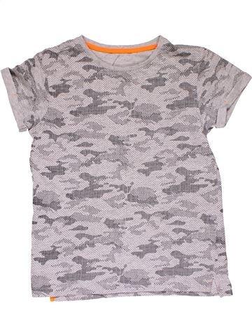 Short sleeve T-shirt boy GEORGE gray 12 years summer #29277_1