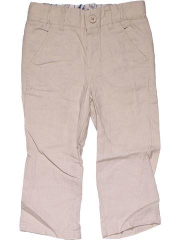 Trouser boy MARKS & SPENCER pink 2 years summer #29352_1