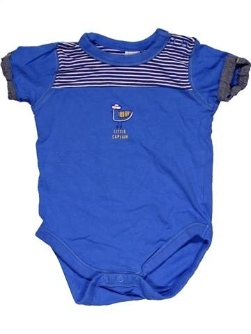 Short jumpsuit boy MINI CLUB blue 9 months summer #29411_1