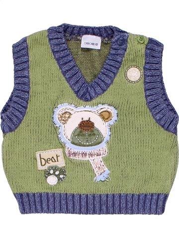 Vest boy CHEROKEE brown 6 months winter #2941_1