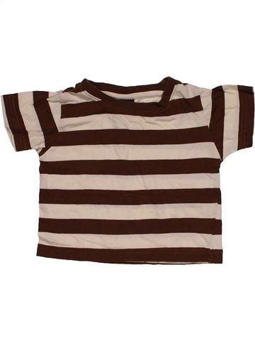 Short sleeve T-shirt boy NEXT brown 9 months summer #29475_1