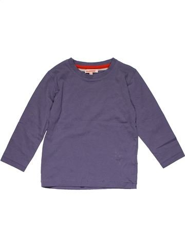 Long sleeve T-shirt boy BLUEZOO purple 3 years summer #29531_1