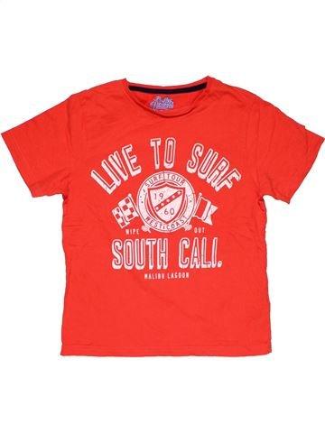 Short sleeve T-shirt boy MARKS & SPENCER orange 10 years summer #29586_1