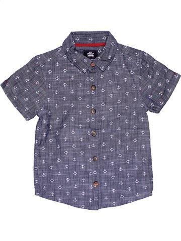 Short sleeve shirt boy REBEL blue 3 years summer #29646_1