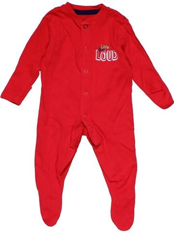Long jumpsuit boy EARLY DAYS red 3 months winter #29680_1