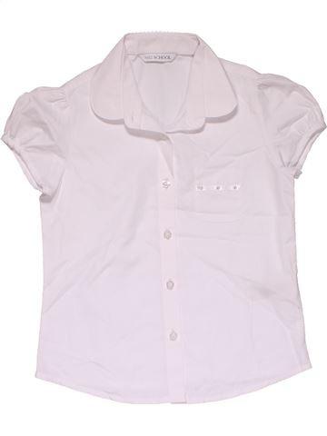 Short sleeve shirt girl MARKS & SPENCER pink 7 years summer #29893_1