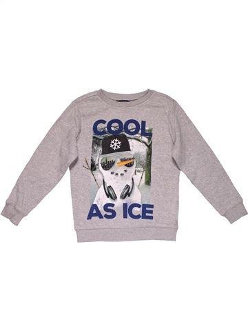 Sweatshirt boy GEORGE gray 7 years winter #29999_1
