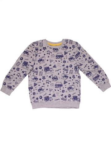 Sweatshirt boy GEORGE gray 6 years winter #30008_1
