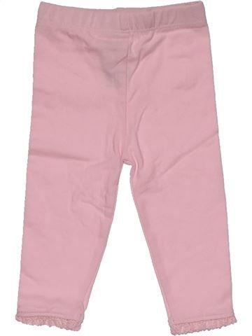 Leggings girl BABY pink 3 months winter #30041_1