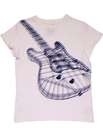 Short sleeve T-shirt boy NEXT white 11 years summer #30053_1