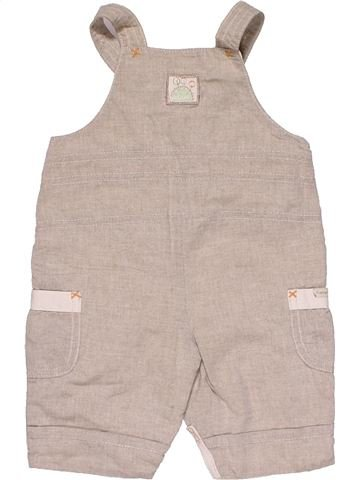 Dungaree boy MAMAS & PAPAS gray 3 months summer #30067_1