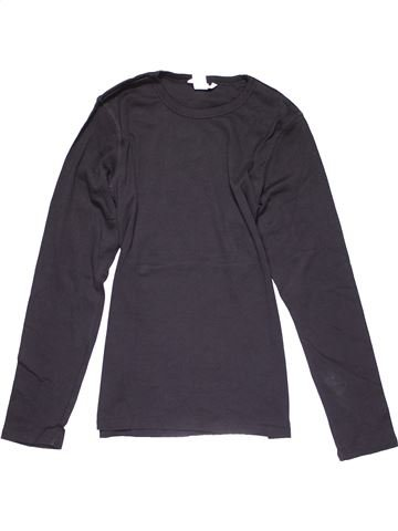 Long sleeve T-shirt girl H&M gray 14 years winter #30102_1