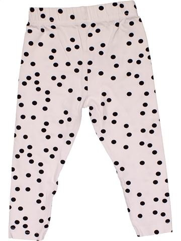 Leggings girl MINOTI white 2 years summer #30334_1