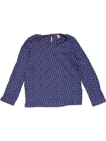 Long sleeve T-shirt girl MARKS & SPENCER purple 3 years winter #30337_1