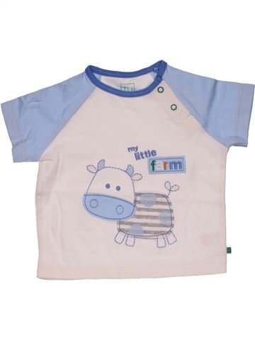 Short sleeve T-shirt boy TU white 9 months summer #30351_1
