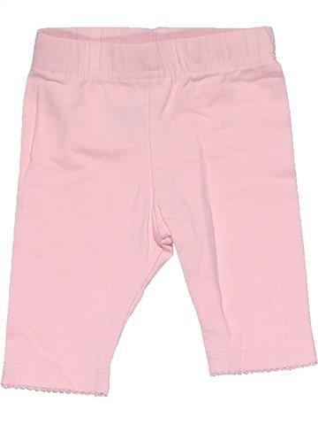 Leggings girl GEORGE pink 1 month summer #30397_1