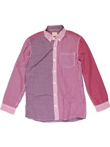 Long sleeve shirt boy NEXT pink 11 years winter #30399_1